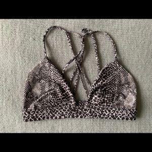 Acacia swimwear top